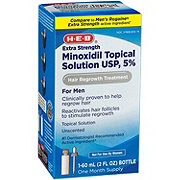 H-E-B Minoxidil For Men Extra Strength Hair Regrowth Treatment