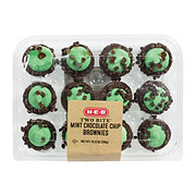 H-E-B Mint Chocolate Chip Brownies