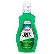 H-E-B Mint Long Lasting Mouthwash