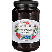 H-E-B More Fruit Cherry and Blueberry Fruit Spread