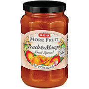 H-E-B More Fruit Peach & Mango Fruit Spread
