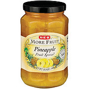 H-E-B More Fruit Pineapple Fruit Spread