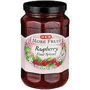 H-E-B More Fruit Raspberry Fruit Spread