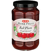 H-E-B More Fruit Red Plum Fruit Spread