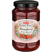 H-E-B More Fruit Strawberry Fruit Spread