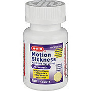 H-E-B Motion Sickness Relief 25MG