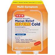 H-E-B Mucus Relief Severe Cold