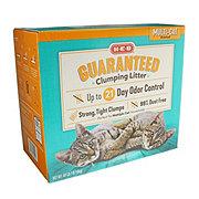 H-E-B Multi Cat Scented Guaranteed Clumping Litter