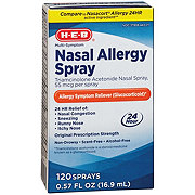 H-E-B Multi-symptom Nasal Allergy Spray