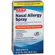 H-E-B Multi-symptom Nasal Allergy Spray