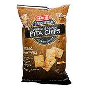 H-E-B Multigrain Baked Pita Chips