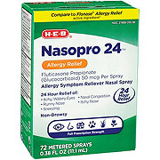 H-E-B Nasopro 24 Allergy Relief Nasal Spray