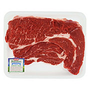 H-E-B Natural Beef Chuck Steak Boneless USDA Choice