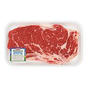 H-E-B Natural Beef New York Strip Steak Bone-In USDA Choice