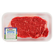 H-E-B Natural Beef New York Strip Steak Boneless USDA Choice