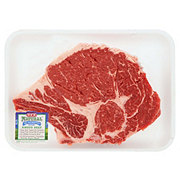 H-E-B Natural Beef Ribeye Steak Bone-In USDA Choice