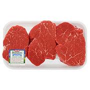 H-E-B Natural Beef Tenderloin Steak Special Trim Boneless USDA Choice