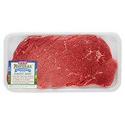 H-E-B Natural Beef Top Round Steak Boneless USDA Choice