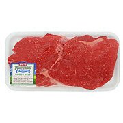 H-E-B Natural Beef Top Sirloin Steak Center Cut  Thick USDA Choice