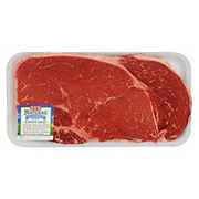 H-E-B Natural Beef Top Sirloin Steak Thick USDA Choice