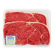 H-E-B Natural Beef Top Sirloin Steak Thin USDA Choice