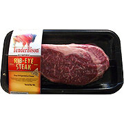 H-E-B Natural Bison Ribeye Steak Boneless