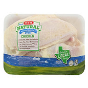 H-E-B Natural Bone In Split Chicken Breast