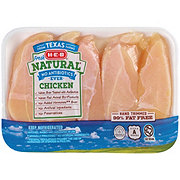 H-E-B Natural Boneless Chicken Breast Tenders