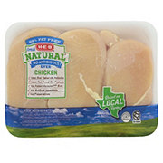 H-E-B Natural Boneless Skinless Chicken Breasts