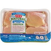 H-E-B Natural Chicken Thighs Boneless Skinless