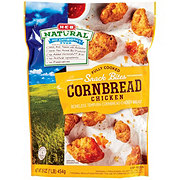 H-E-B Natural Fully Cooked Cornbread Chicken