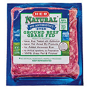H-E-B Natural Grass Fed 90/10 Ground Beef