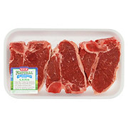 H-E-B Natural Lamb Loin Chops Bone-In