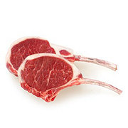 H-E-B Natural Lamb Rib Chops Bone-In Thick