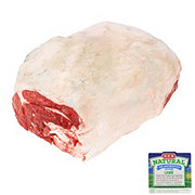 H-E-B Natural Leg Of Lamb Whole Semi-Boneless