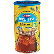 H-E-B Natural Lemon Flavor Iced Tea Mix