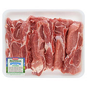 H-E-B Natural Pork Country Style Boston Butt Ribs Bone-In Value Pack