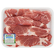 H-E-B Natural Pork Country Style Boston Butt Ribs Boneless