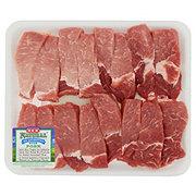 H-E-B Natural Pork Loin Cut Texas Style Ribs Boneless Value Pack