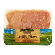 H-E-B Natural Turkey Breast Cutlet