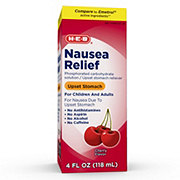 H-E-B Nausea Relief Cherry Flavored Liquid