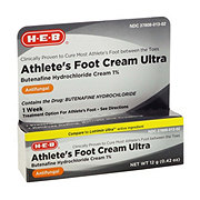 H-E-B  Athletes Foot Cream Ultra