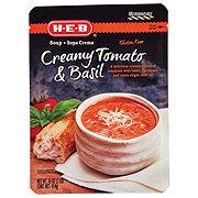 H-E-B Creamy Tomato & Basil Soup