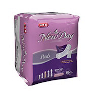 H-E-B New Day Regular Moderate Absorbency  Pads