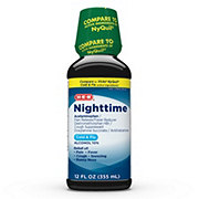 H-E-B Night Time Cold & Flu