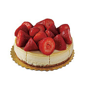 H-E-B No Sugar Added Cheesecake with Strawberries and Sugar-free Glaze