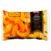 H-E-B No Sugar Added Sliced Peaches