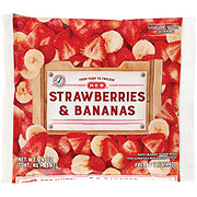 H-E-B No Sugar Added Strawberries & Bananas