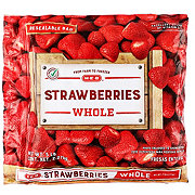 H-E-B No Sugar Added Whole Strawberries