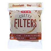 H-E-B Number 2 Cone Coffee Filter Natural